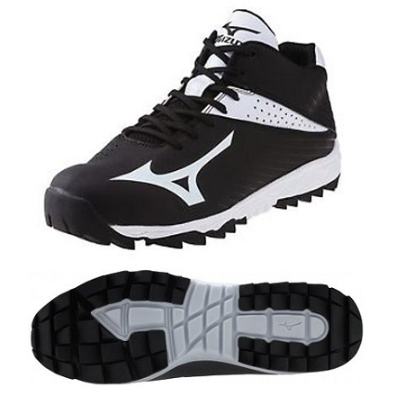 Mizuno Men S Jawz Blast 4 Multi Purpose Cleat Black White