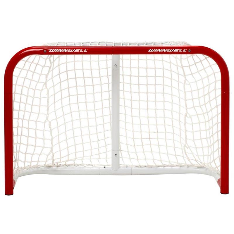 how to make a knee hockey net