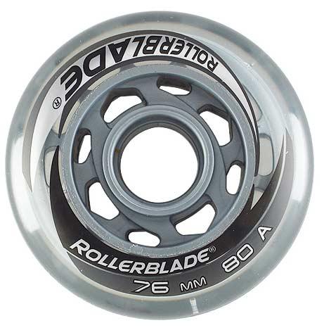 Rollerblade Wheels 76mm 80a W Sg5 Bearings