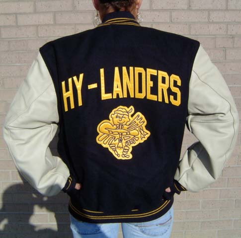 Columbia heights woolleather letter jacket spiritdancerdesigns Choice Image