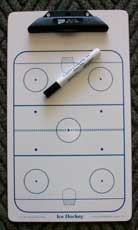 Clafin Hockey Clipboard