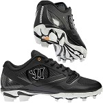 Warrior Gospel Mens Lacrosse Cleat - Black